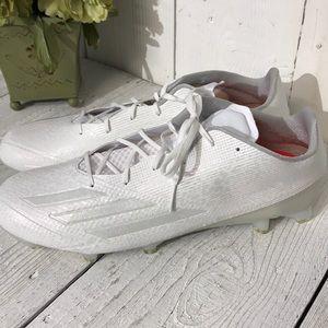 New Adidas Adizero White Football Cleat Size 15